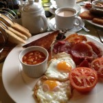 Full English Breakfast at Smallsticks