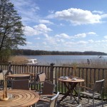 Relax outside at the Waterside Rollesby