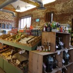 Fresh produce in the farm shop
