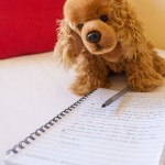The mascot Charlie and his diary