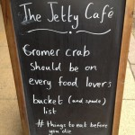 Jetty Cafe sign