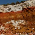 The cliffs up close