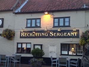 Recruiting Sergeant Horstead