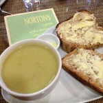 Soup at Nortons Cafe