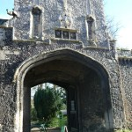 Walsingham Abbey Entrance