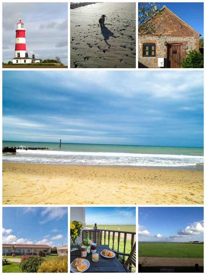 Norfolk Coastal Collage