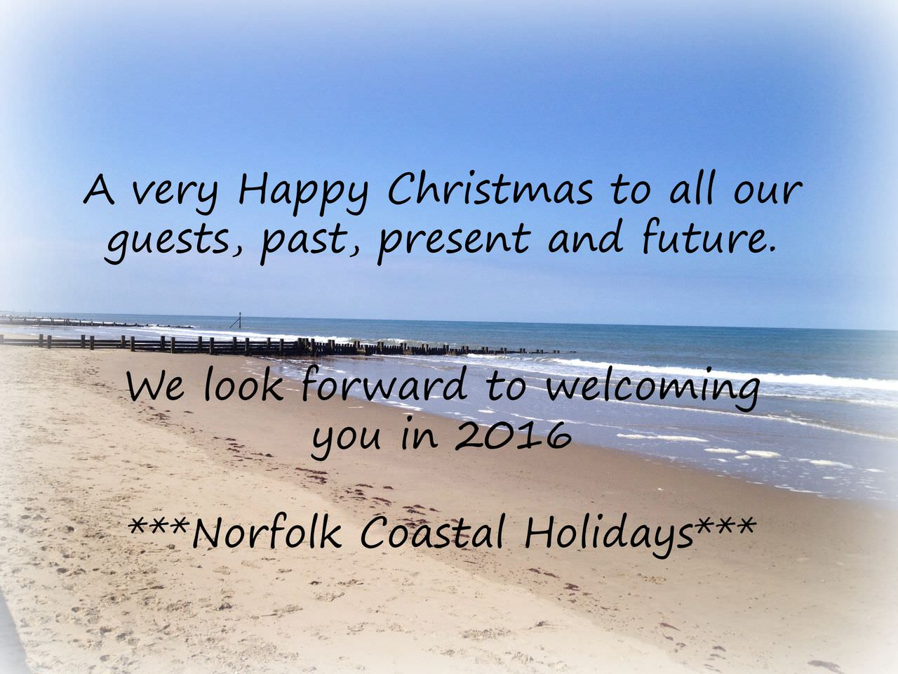 Christmas wishes from Norfolk