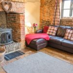 A cosy corner by the woodburner
