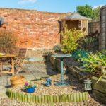A sunny corner in the garden