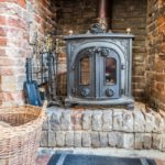 Woodburner for cosy nights in