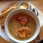 French Onion Soup at Huckleberries