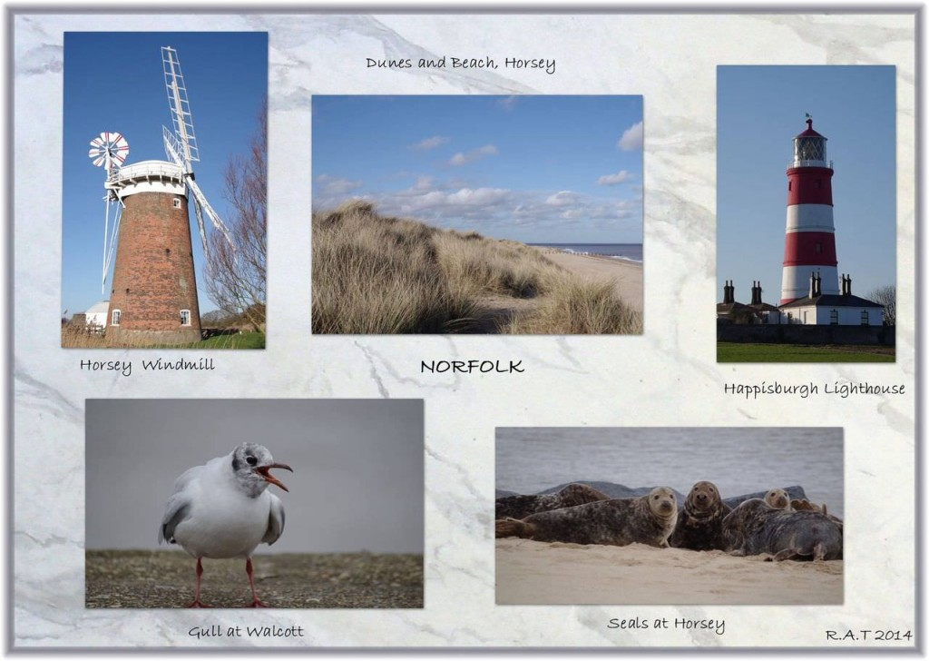Montage of Norfolk images