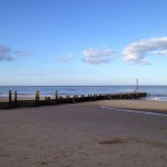 Peaceful Bacton Beach