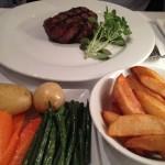 Steak at Bolton's Bistro