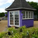 Lavender shed
