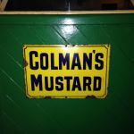 Colmans Mustard sign
