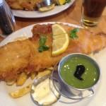 Fish and chips at No 1