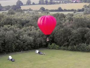 Hot Air ballooning over Norfolk