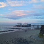 Sunset at Cromer Pier
