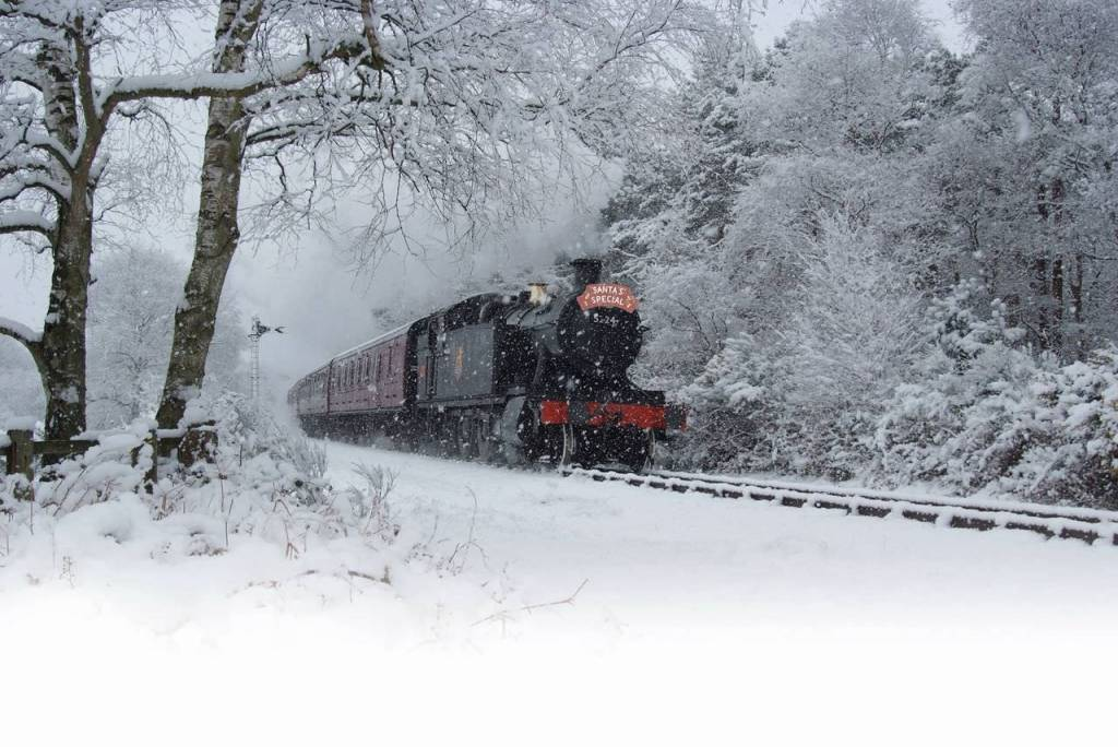 Santa Special on The Poppy Line